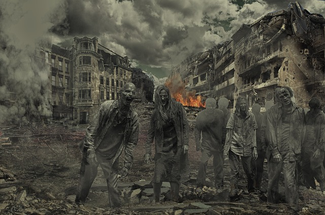 zombie město