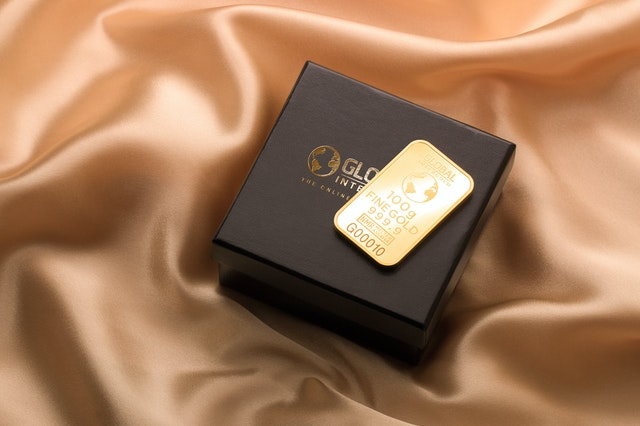 zlato na krabičce